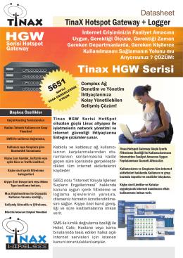 ilan ve teknik şartname - Tarsus Devlet Hastanesi