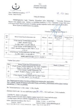 3713 sayılı kanun kapsamında atanacakların listesi