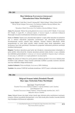 İstanbul - Biyoloji Kongreleri