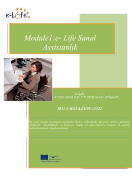 Module1:e- Life Sanal Assistanlık