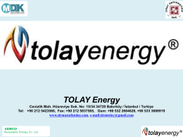 Tolay Energy