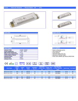 (\(TR\) Elektronik Balastlar