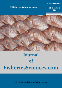 Journal of FisheriesSciences.com