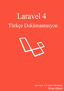 Laravel 4 Türkçe Dokümantasyon