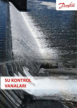 su kontrol vanaları