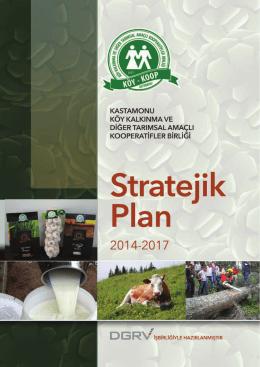 stratejik plan 2014 - Kastamonu Köy koop