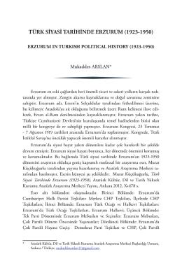 Yayın Tanıtım - Atatürk Araştırma Merkezi