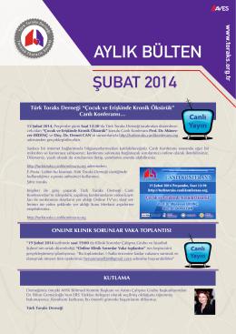 24 Ocak 2014 - Türk Toraks Derneği