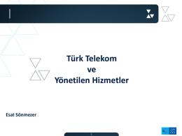 Türk Telekom ve Yönetilen Hizmetler