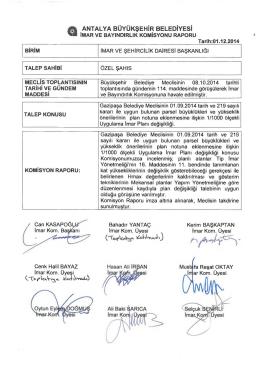 Gündemin 32.Maddesi - Antalya Belediyesi