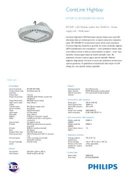 CoreLine High-bay BY120P yüksek tavan aydınlatma