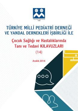sık infeksiyon geçiren çocuk - Türkiye Milli Pediatri Derneği