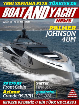 dergiyi oku - Boat and Yacht News