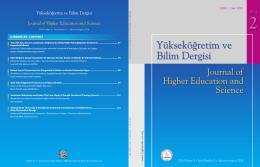 Bülent Ecevit - Yükseköğretim ve Bilim Dergisi