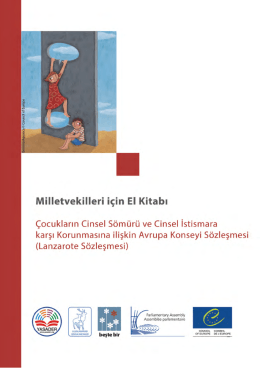 Milletvekilleri için El Kitabı - Çocuk Hakları İzleme ve Raporlama