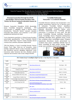 Haziran 2014 - Enerji Verimliliği Derneği