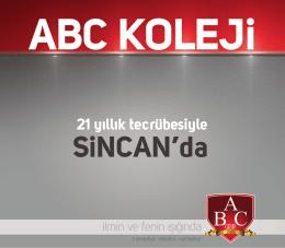 Tanıtım Kataloğu - Sincan ABC Koleji