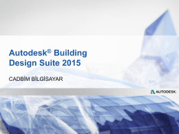 Autodesk Building Design Suite 2015