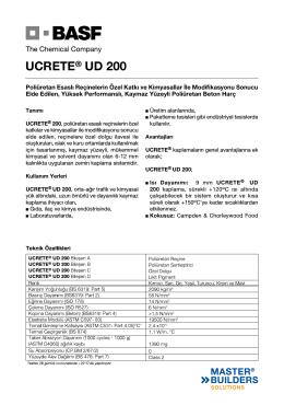 UCRETE® UD 200