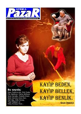 sayı 485.p65 - Afrika Gazetesi
