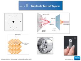 Callister-KristalYapı