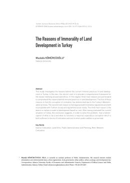Full Text (PDF) - İş Ahlakı Dergisi