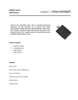 NORDIC ID Stix USB Okuyucu