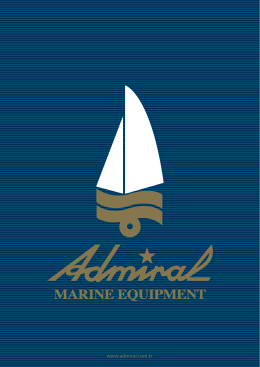 Admiral 2014 Katalog - Admiral Marine Equipment