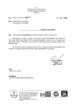 r.e. - mersin - mezitli ilçe millî eğitim müdürlüğü