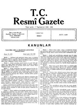 Re T.C. smı Gazete