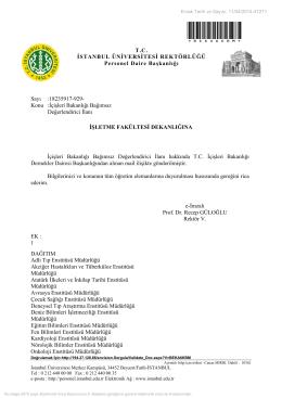 İçişleri Bakanlığı Bağımsız Değerlendirici İlanı