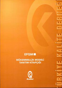 EFQM 2013 Model Tanıtımı - Stratejik Planlama ve EFQM Şube