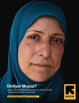Dinliyor Muyuz? - International Rescue Committee