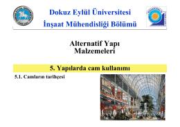 Slayt 1 - Dokuz Eylül Üniversitesi