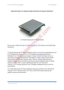 "2.8"" TFT LCD Touch Shield"