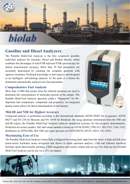 Gasoline and Diesel Analyzers