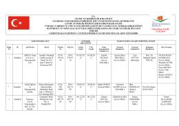 17/06/2011 Tarih ve 27967 Sayılı Resmi Gazete`de yayımlanan