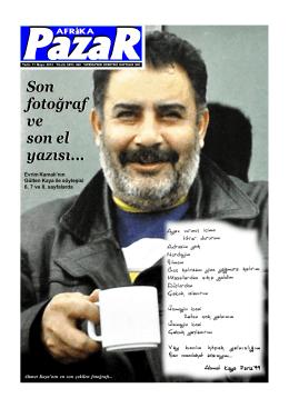 sayı 468.p65 - Afrika Gazetesi