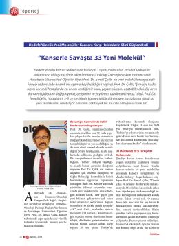 Prof.Dr.İsmail Çelik - İmmuno Onkoloji Derneği