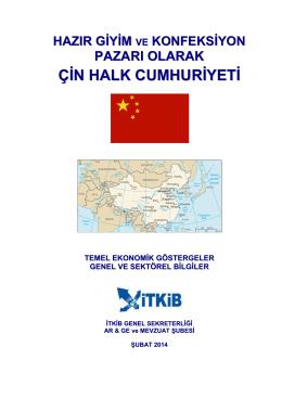 şubat 2014 - İstanbul Tekstil ve Konfeksiyon İhracatçı Birlikleri