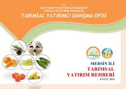 mersin - TC Gıda Tarım ve Hayvancılık Bakanlığı