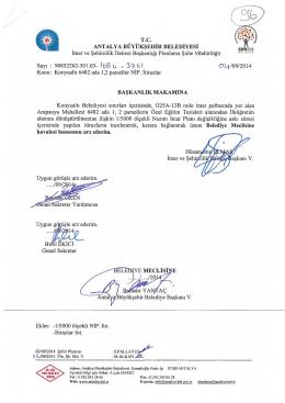 Gündemin 96.Maddesi - Antalya Belediyesi