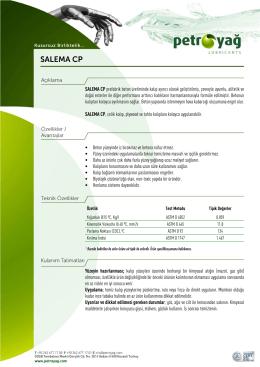 SALEMA CP - Petro Yag