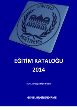 eğitim kataloğumuz - United Partners – Türkiye