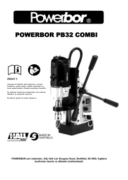 powerbor pb32 combı