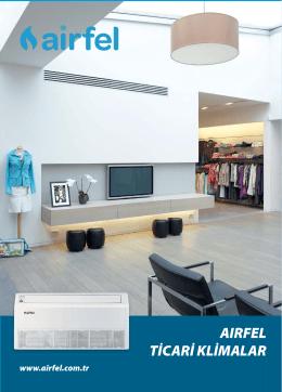 Airfel Ticari Klima (Salon - Kaset - Kanallı