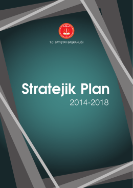 Stratejik Plan (2014-2018)