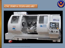 CNC TORNA TEZGAHLARI - Makine Mühendisliği