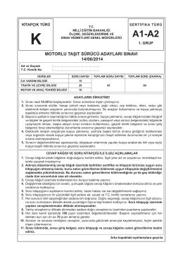 A1-A2 Sınıfı Ehliyet - Fenerbahçe Sürücü Kursu