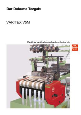 Dar Dokuma Tezgahı VARITEX V5M
